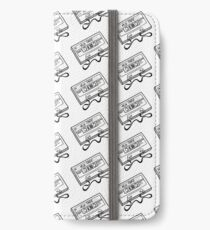 80s Mix Tape lineart iPhone Wallet/Case/Skin