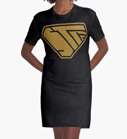 STPC SuperEmpowered (Gold) Graphic T-Shirt Dress
