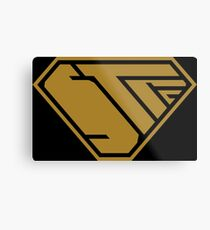 STPC SuperEmpowered (Gold) Metal Print
