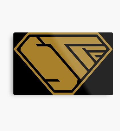 STPC SuperEmpowered (Gold) Metal Print