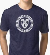 Village Green Preservation Society Tri-blend T-Shirt
