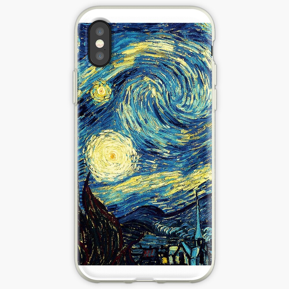 Vincent Van Gogh - Sternennacht iPhone-Hülle & Cover