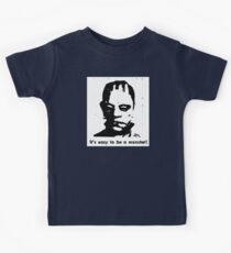 Easy To Be A Monster Kids Tee