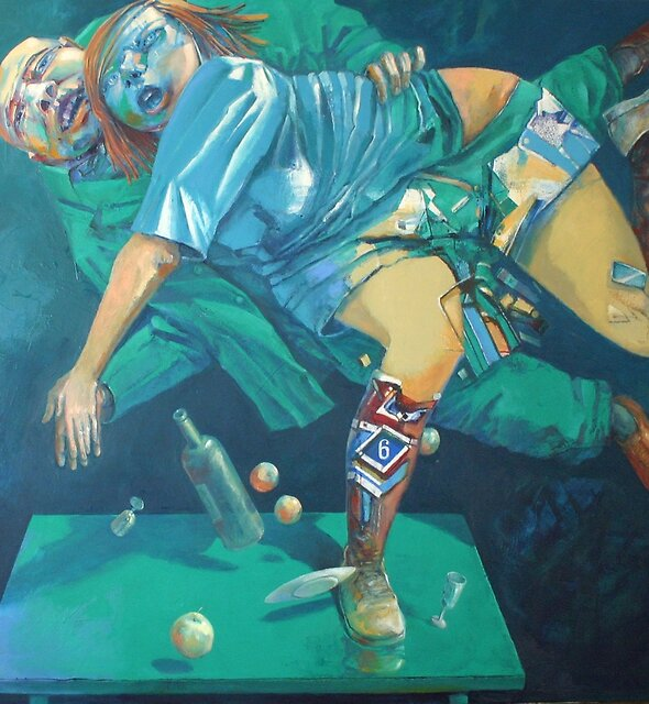 Der Pariser Tango by Valeriu Buev