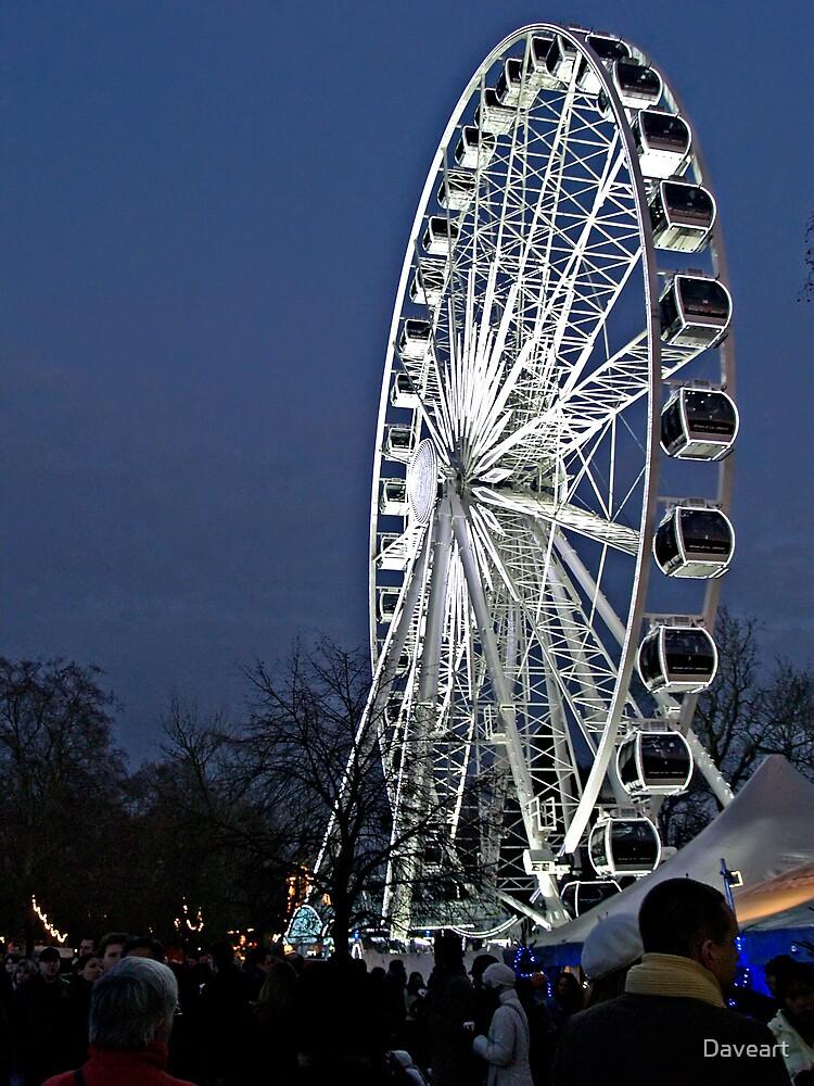 Christmas fair by Daveart