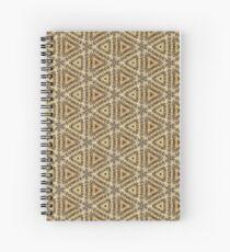 Text Kaleidoscope 1 Spiral Notebook