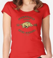 Sunnydale High School Alumni Women's Fitted Scoop T-Shirt