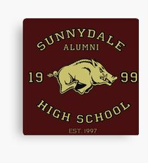Sunnydale High School Alumni Canvas Print