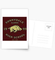 Sunnydale High School Alumni Postcards