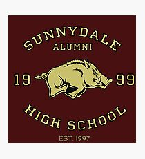 Sunnydale High School Alumni Photographic Print