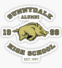 Sunnydale High School Alumni Sticker