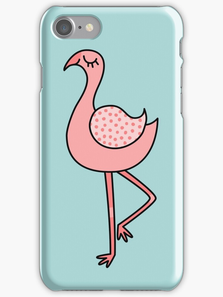 Whimsical Flamingo by Zoe Lathey