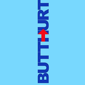 Pro-Trump / Hillary's BUTTHURT Liberals Shirts and Stickers by DuckSkinAngel