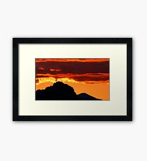 Mexican Fire Framed Print