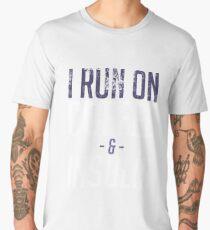 I Run On Coffee And Insulin - Diabetes Awareness Men's Premium T-Shirt