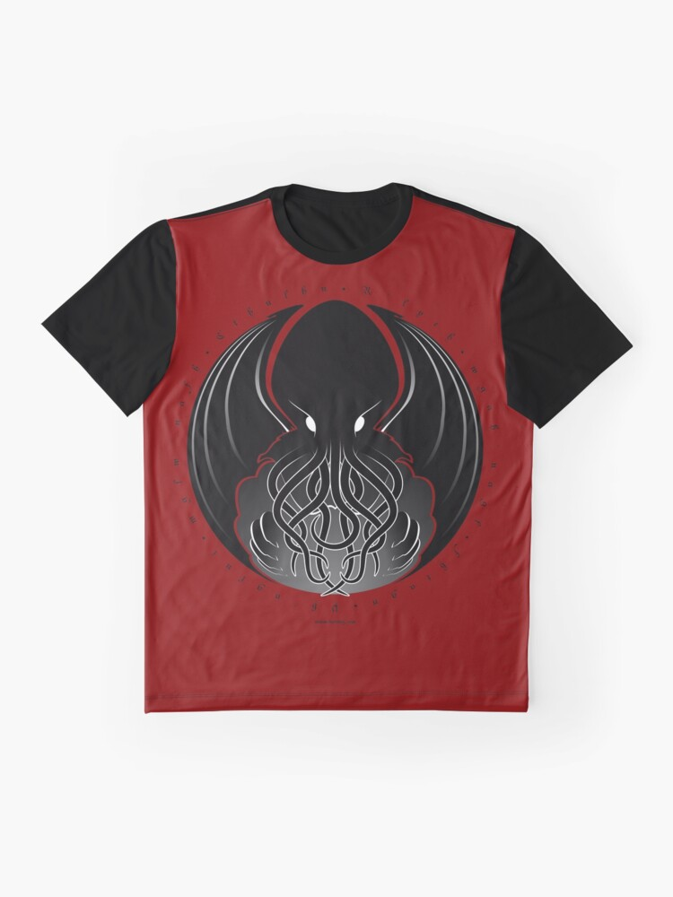 Alternate view of Cthulhu Graphic T-Shirt