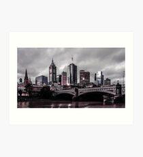 Gotham by the Yarra Art Print