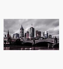 Gotham by the Yarra Photographic Print