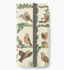 The Robin, what a wonderful bird.  iPhone Wallet/Case/Skin