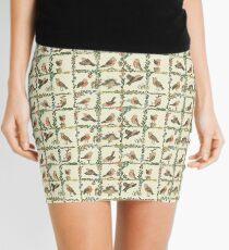 The Robin, what a wonderful bird.  Mini Skirt
