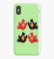 Four Little Birdies  iPhone Case/Skin