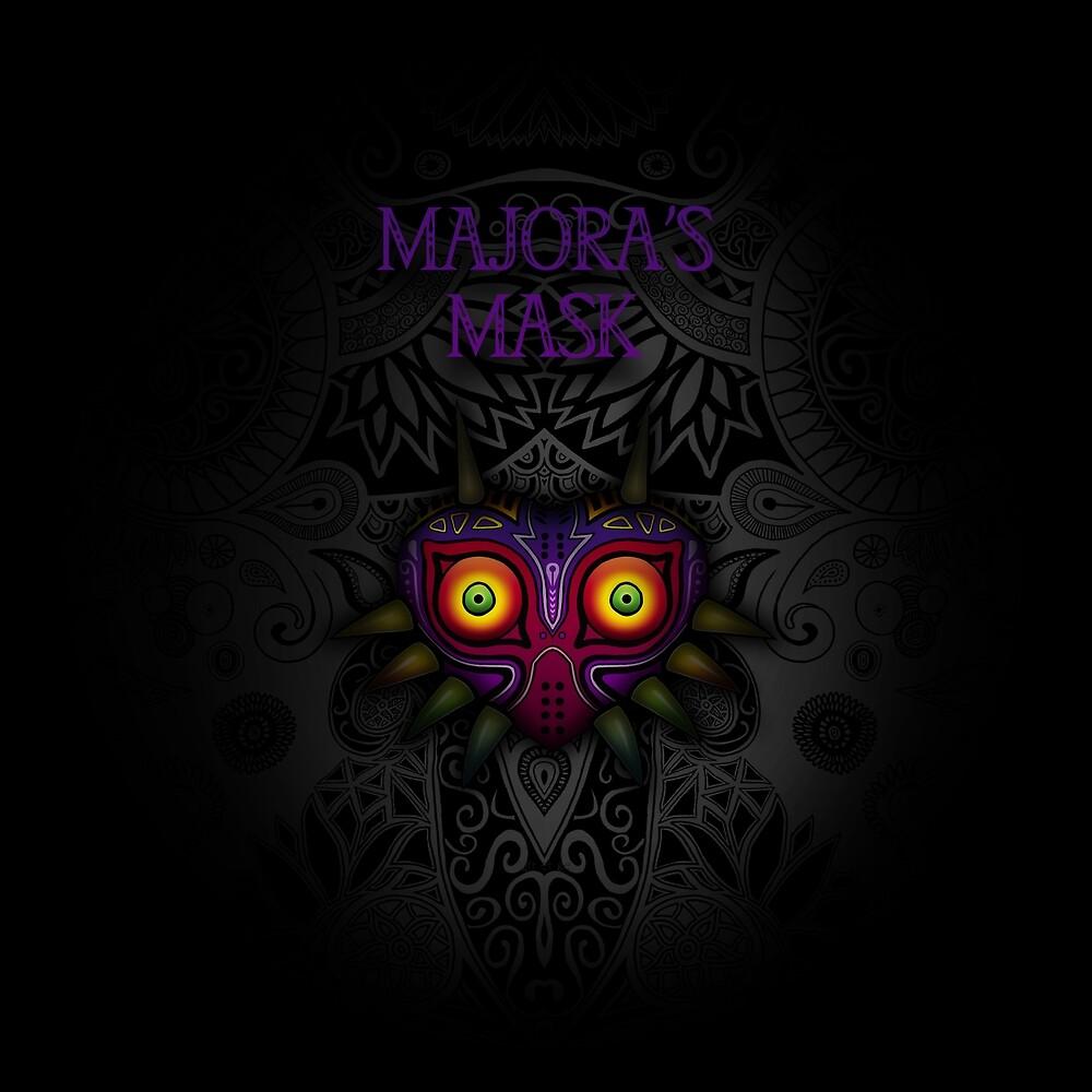 «máscara de Majora» de artetbe