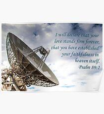 Forever Love - Psalm 89:2 Poster