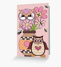 Love Owls  Greeting Card