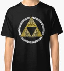 Zelda - Triforce circle Classic T-Shirt