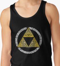 Zelda - Círculo de la Trifuerza Camiseta de tirantes