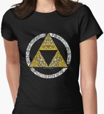 Zelda - Triforce circle Women's Fitted T-Shirt