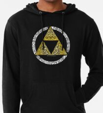 Sudadera con capucha ligera Zelda - Círculo de la Trifuerza