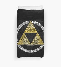 Zelda - Triforce circle Duvet Cover