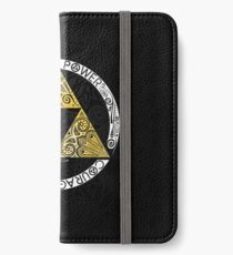 Zelda - Triforce circle iPhone Wallet/Case/Skin