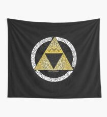 Zelda - Triforce circle Wall Tapestry