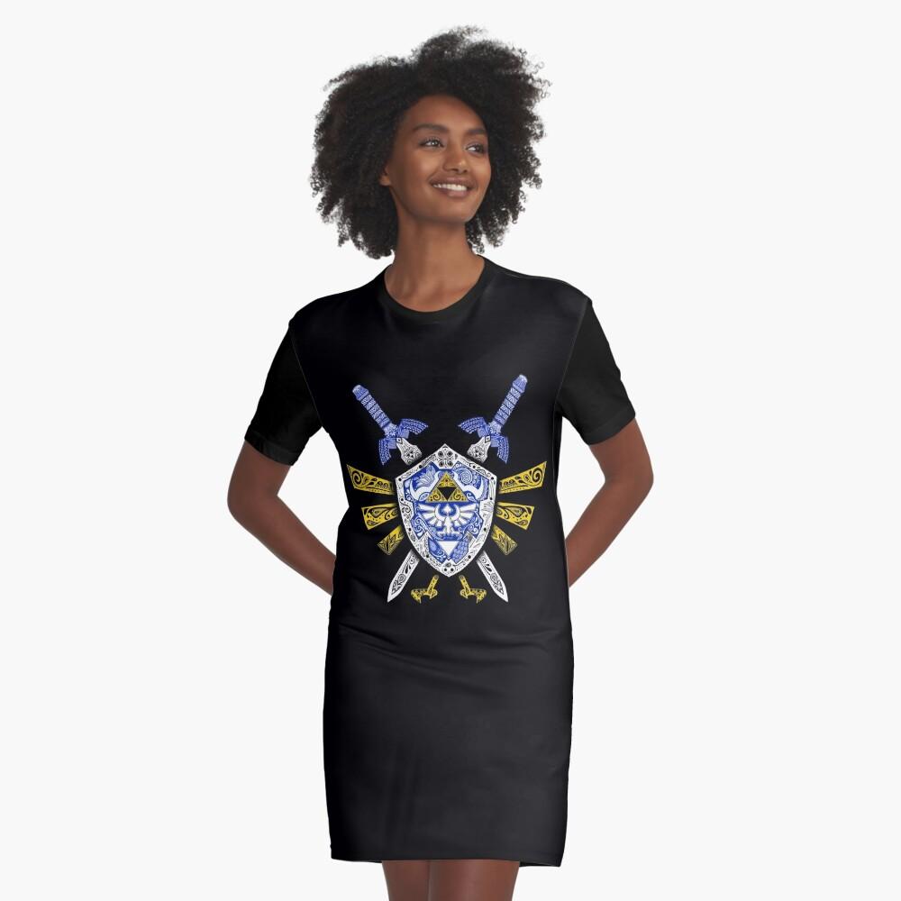 Leyenda de los héroes - Zelda Vestido camiseta