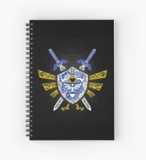 Heroes Legend - Zelda Spiral Notebook