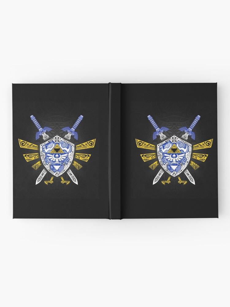 Vista alternativa de Cuaderno de tapa dura Leyenda de los héroes - Zelda