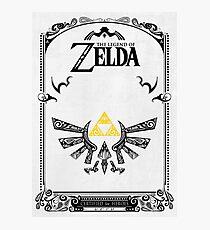 Zelda leyenda Hyrule Lámina fotográfica