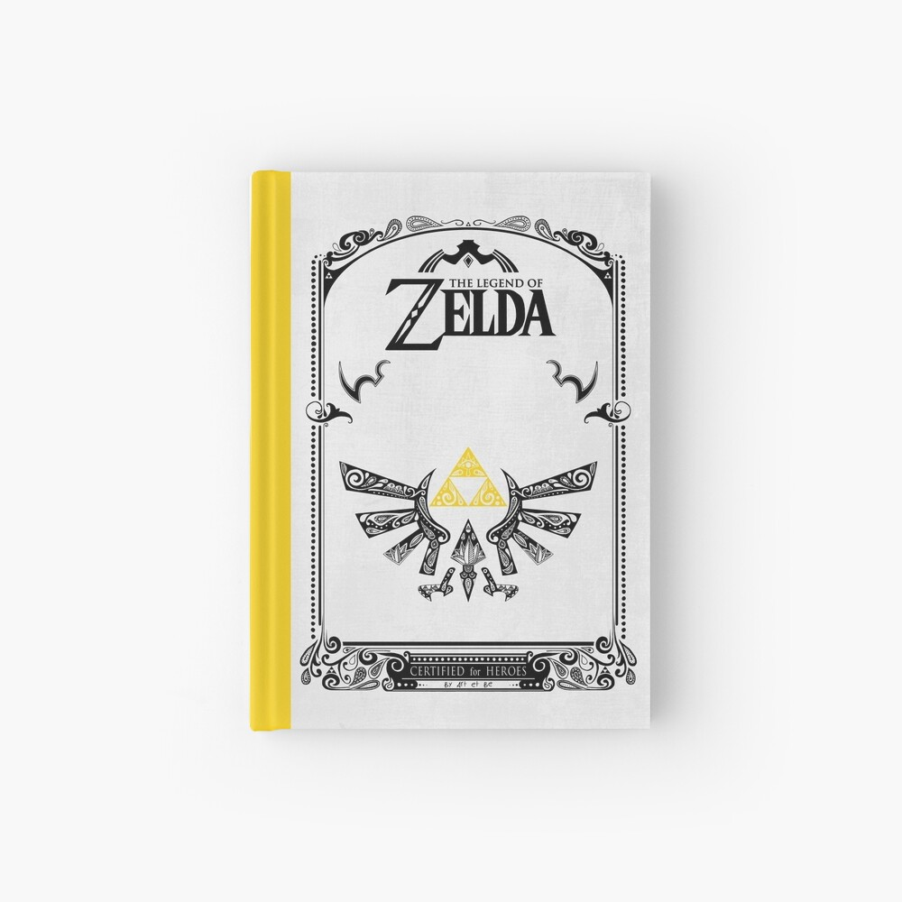Zelda leyenda Hyrule Cuaderno de tapa dura