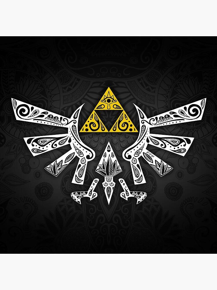 Zelda - Hyrule doodle by artetbe