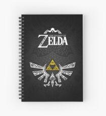 Zelda - Hyrule doodle Spiral Notebook