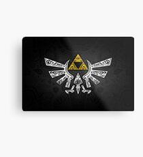 Zelda - Hyrule doodle Metal Print