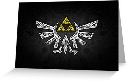 «Zelda - Doodle Hyrule» de artetbe