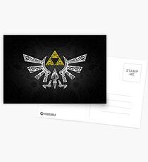 Zelda - Hyrule Gekritzel Postkarten