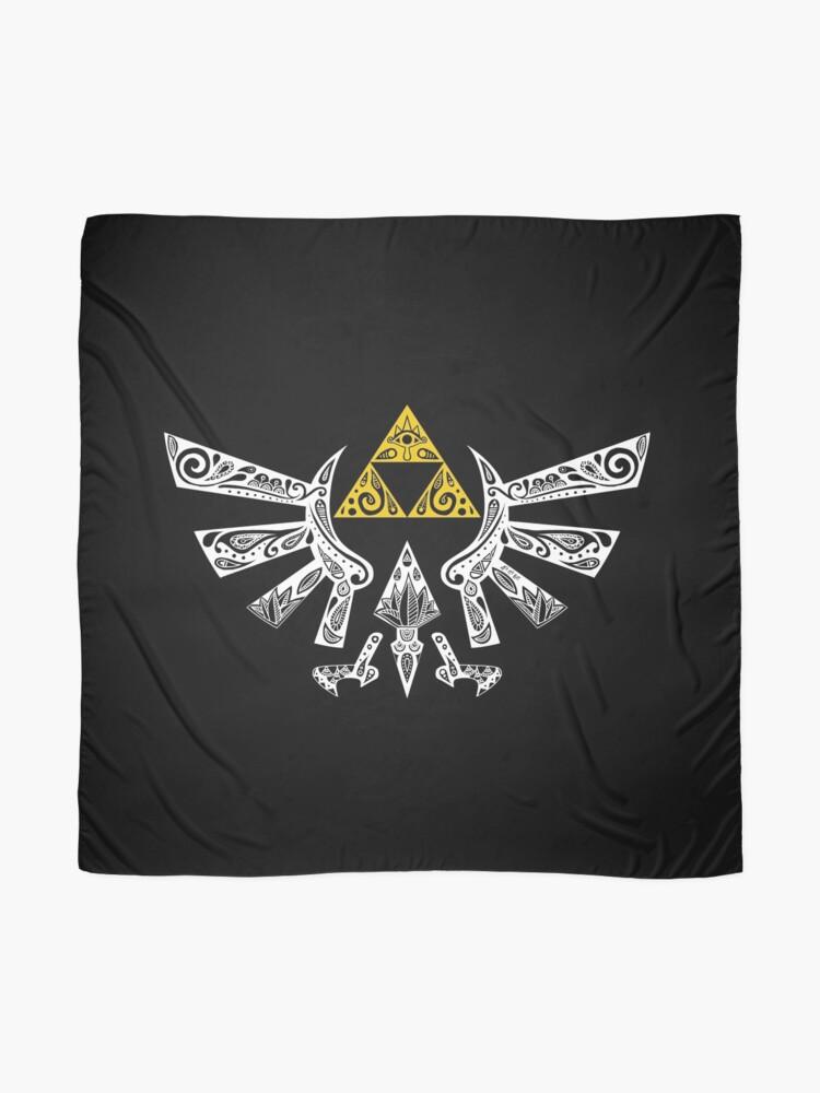 Vista alternativa de Pañuelo Zelda - Doodle Hyrule