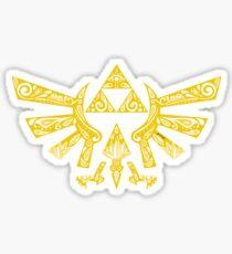 Zelda - Doodle Hyrule Pegatina