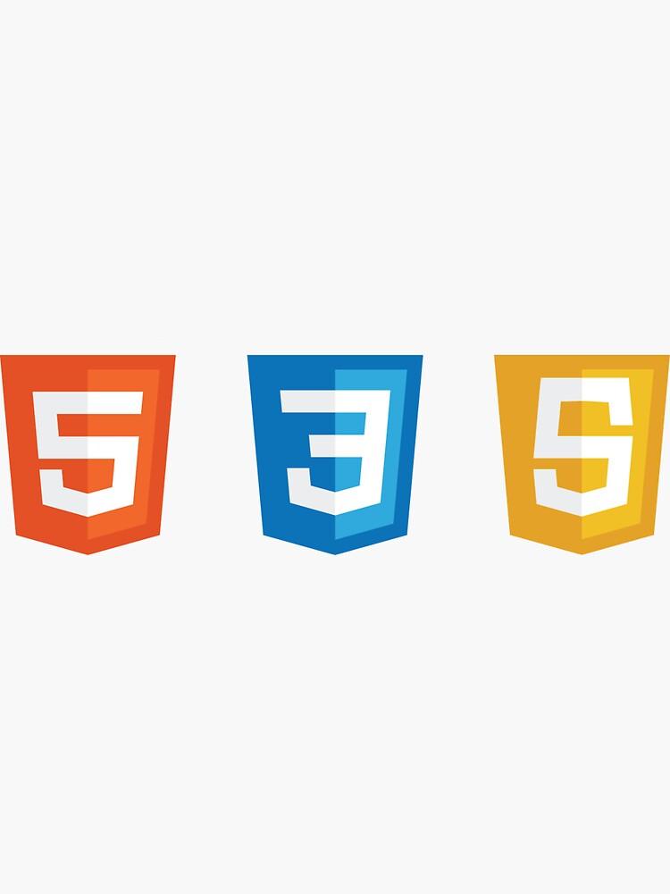 HTML5, CSS3, JS Logos de faressoft