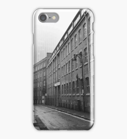 Foggy Leicester Street iPhone Case/Skin