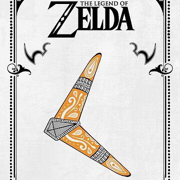 Zelda legend - Boomerang doodle de artetbe
